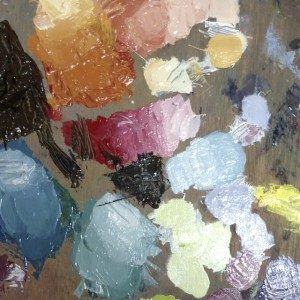 Art Materials: Students Art Palette