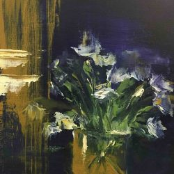 Flowers By Jeremy Fitzroy Painting