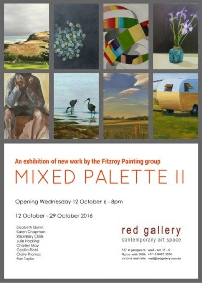 MIXED PALETTE II EXHIBITION AT RED GALLERY