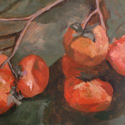Persimmons-student-artwork-fitzroy-painting